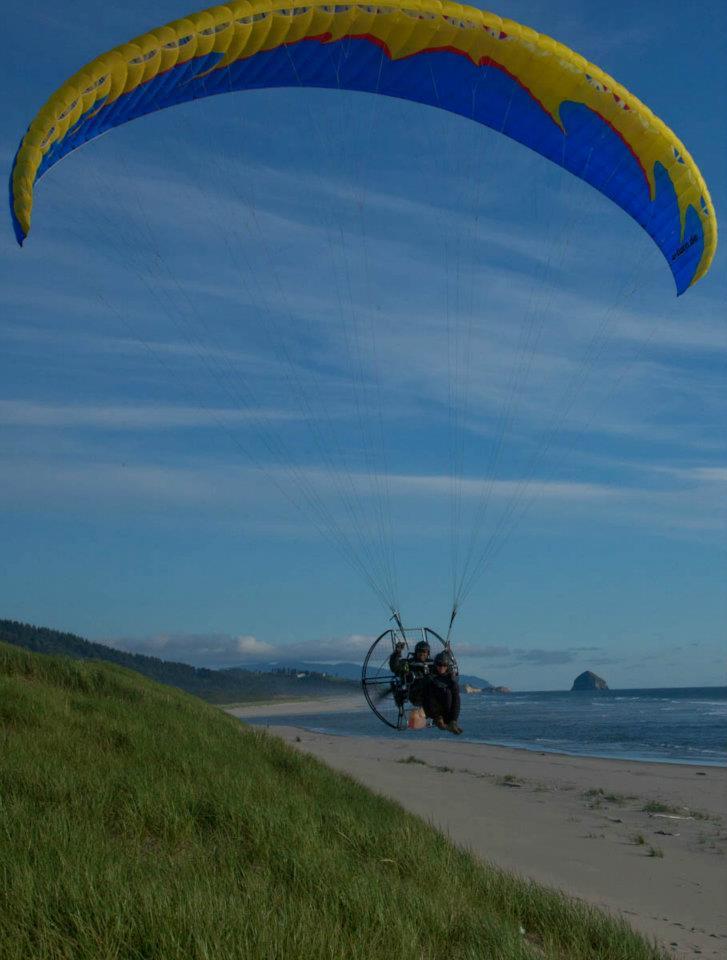 Tandem Paramotor Flying